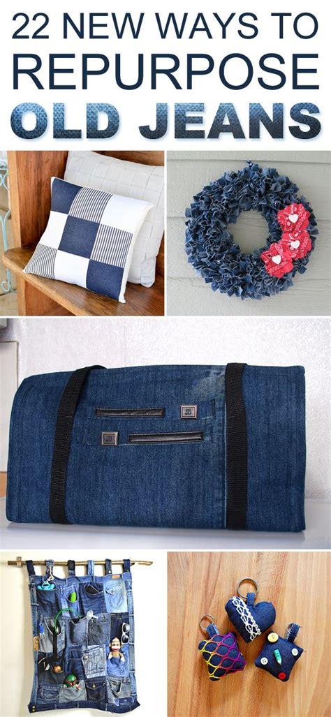 ways  repurpose  jeans sewing  denim