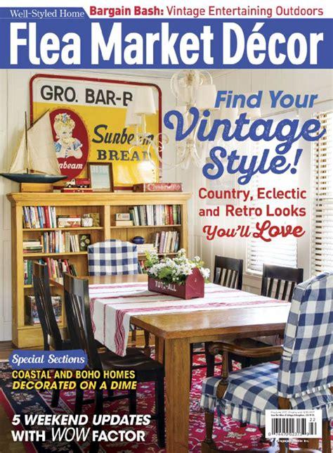 decor magazine flea market decor magazine digital discountmags