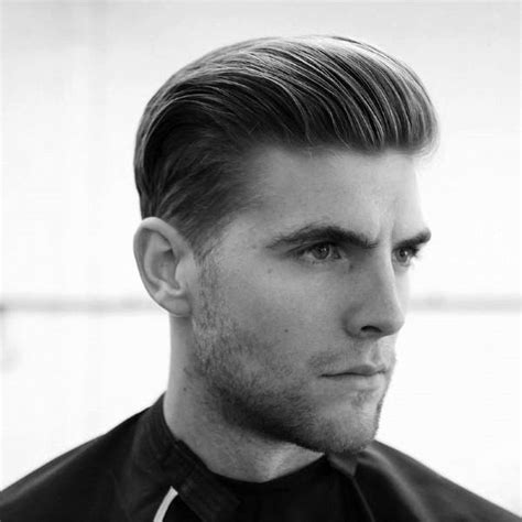 Slicked Back Hair For Men   75 Classic Legacy Cuts