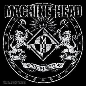 Machine Head Lions Logo Sticker