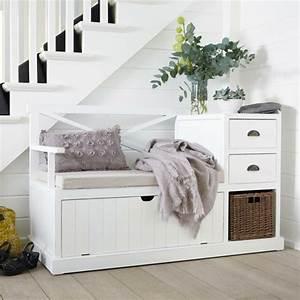 meuble d39entree portemanteau et vide poches en 55 idees With fabriquer un meuble d entree 1 le meuble console d entree complate le style de votre