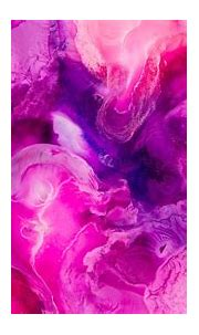 Liquid art 4K Wallpaper, Pearl ink, Pink, Fluid ...