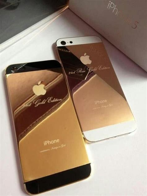 gold iphone 5 24k gold and gold iphone 5 fashion