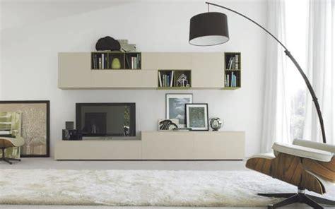 san giacomo design tv wohnwand lampo