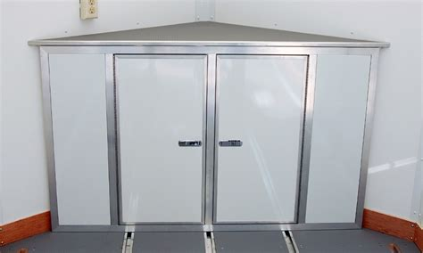 V Nose Enclosed Trailer Cabinets by Cabinet Storage Cabinets For V Nose Enclosed Trailers