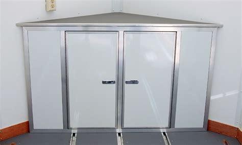 v nose trailer plans cabinets for cargo trailers imanisr com