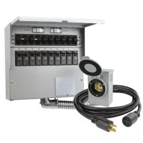 Reliance Controls Circuit Amp Manual Transfer Switch