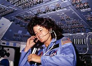 LGBT History Project: Sally Ride, the first American woman ...