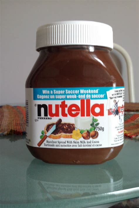 image de pot de nutella cartido