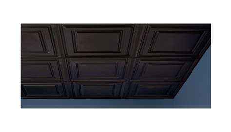 black ceiling tiles 2x2 icon relief 2 x 2 black box of 12