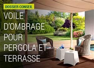 Voile Pour Pergola : ombrage d co tiss pour pergola ou suspendre nortene ~ Melissatoandfro.com Idées de Décoration
