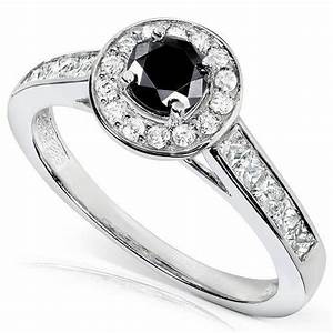 black engagement rings cheap fashion female With cheap black wedding rings