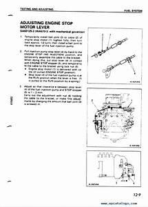 Komatsu Diesel Engine 125