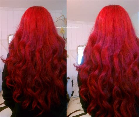 Bright Red Long Hair Hairstyles Hair
