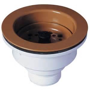 bonde pour evier de cuisine bonde à panier pour évier 1 bac ø90 mm grès synthèse