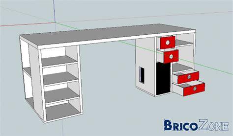 fabriquer bureau informatique fabrication d 39 un bureau en mdf