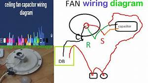 Ceiling Fan Capacitor Wiring Diagram In Bangla Maintenance