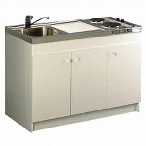 Meuble Sous Evier 90 Cm : meuble sous vier sesame longueur 90 cm 2 portes achat ~ Dailycaller-alerts.com Idées de Décoration
