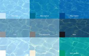 revetement de piscine l39embarras du choix With couleur eau piscine selon couleur liner