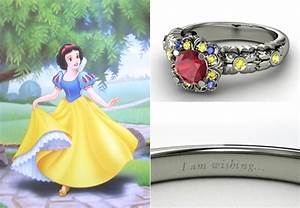 Disney princess engagement rings tales of a twenty something for Snow white wedding ring
