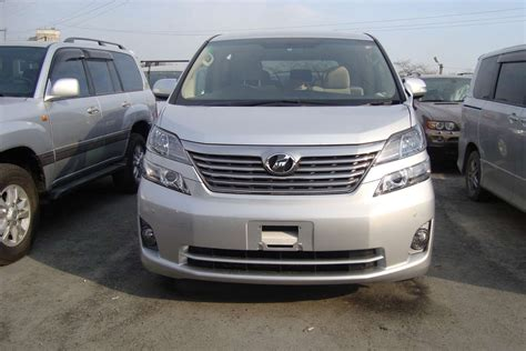 Toyota Vellfire Picture by 2010 Toyota Vellfire Pictures 2 4l Gasoline Ff