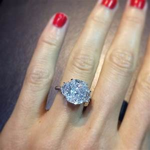 cushion cut 3 stone engagement ring ring concierge With 12000 wedding ring