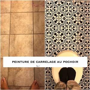 Peindre Au Passé Simple : 1001 id es peindre du carrelage un coup de jeune ~ Melissatoandfro.com Idées de Décoration