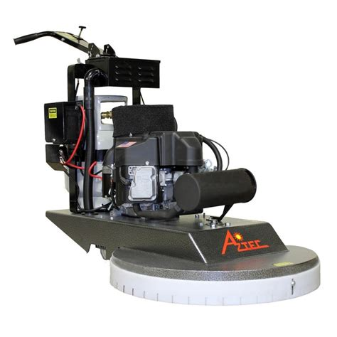 Propane Floor Buffer Burnisher by Aztec 27 Inch Propane Floor Burnisher