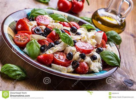 cuisine mediterraneenne caprese salade caprese salade italienne salade
