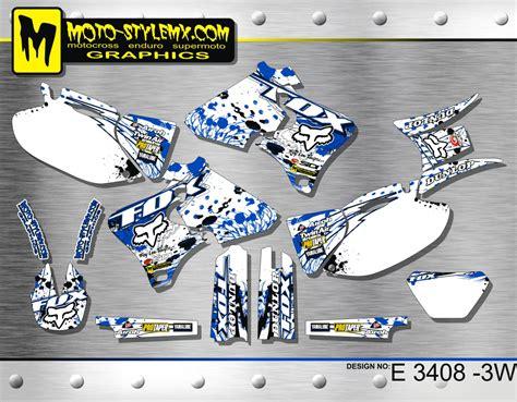yamaha wrf wr 250 400 426 1998 up to 2002 graphics decals kit moto stylemx ebay