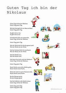 Weihnachtsgedichte Kinder Alt : guten tag ich bin der nikolaus gedicht weihnachten ~ Haus.voiturepedia.club Haus und Dekorationen