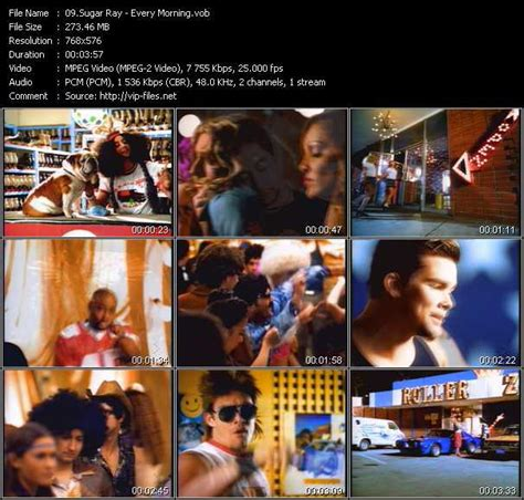sugar ray every morning download music video clip from