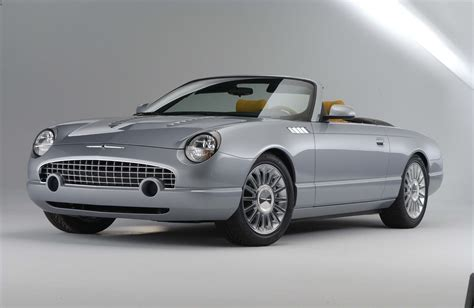 ford thunderbird supercharged concept car