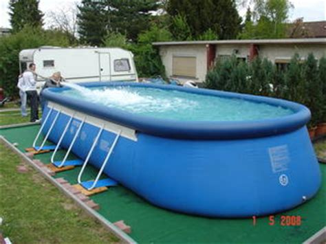 ovalpool aufbau intex oval frame pool luftring reparatur
