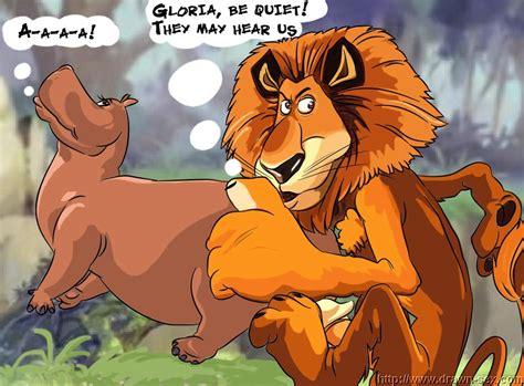 Madagascar Alex And Gloria • Porn Comics One