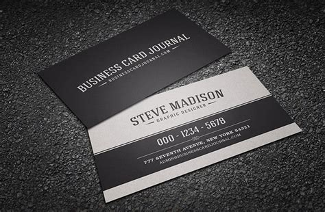 21 Free Vintage Business Card Templates For Download