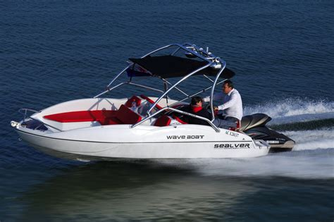 Jet Ski With Boat by Turn Your Jet Ski Into A Sealver Wave Boat The