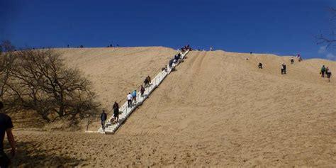 dune du pilat 33 l escalier est install 233 et les touristes sont nombreux sud ouest fr