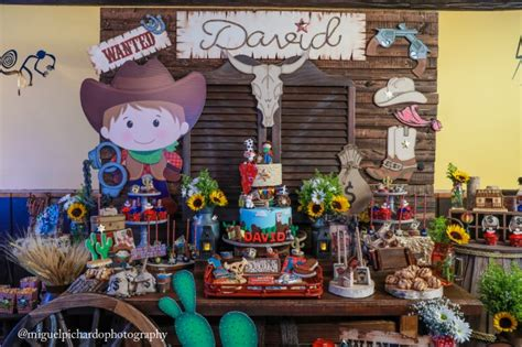 amazing cowboy  birthday party pretty  party