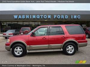 Laser Red Tinted Metallic - 2003 Ford Expedition Eddie Bauer 4x4