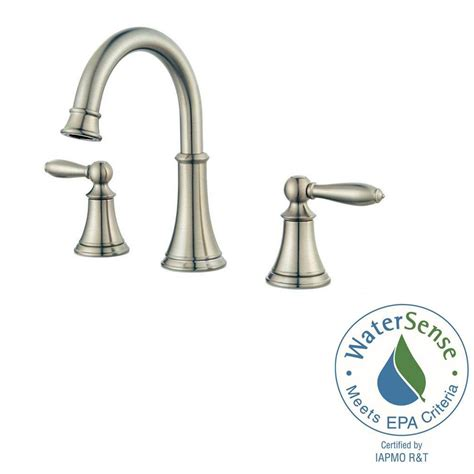 widespread kitchen faucet pfister courant widespread bathroom faucet