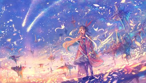 Anime World Wallpaper - 1960x1120 anime world petals