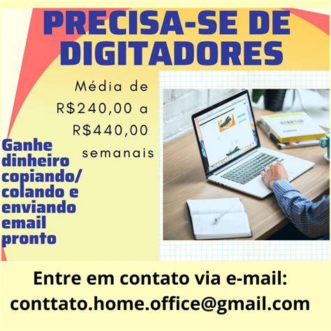 Vagas De Emprego Digitador Online São Paulo Sp Zip