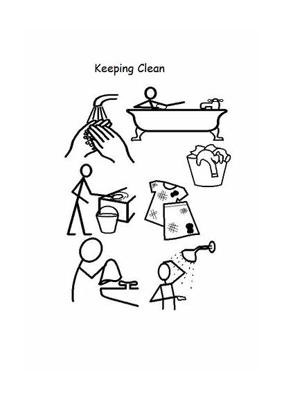 Clean Keeping Colouring Keep Ourselves Tes Resources