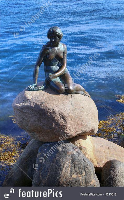 sculpture    mermaid copenhagen denmark picture
