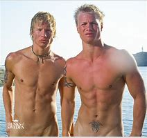 Naked Men Of Scandinavia Cumception