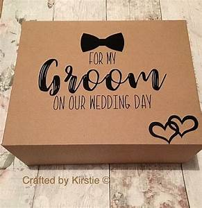 Groom box groom gift husband to be gift gift for my for Gift from bride to groom on wedding day