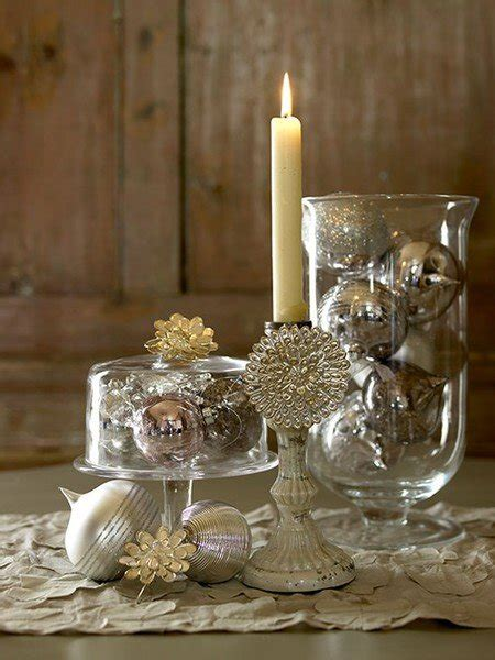 gold christmas table centerpieces 30 sparkling gold and silver christmas decorations sortra