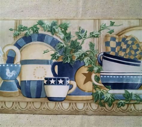 country kitchen borders tips to find the right kitchen wallpaper border decor on 2737
