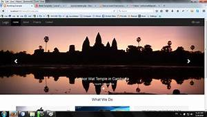 Sample Laravel 5.3 Project with Bootstrap Templates | Free ...